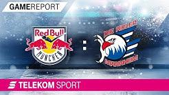 EHC Red Bull München - Adler Mannheim | Halbfinale, Spiel 1, 17/18 | Telekom Sport