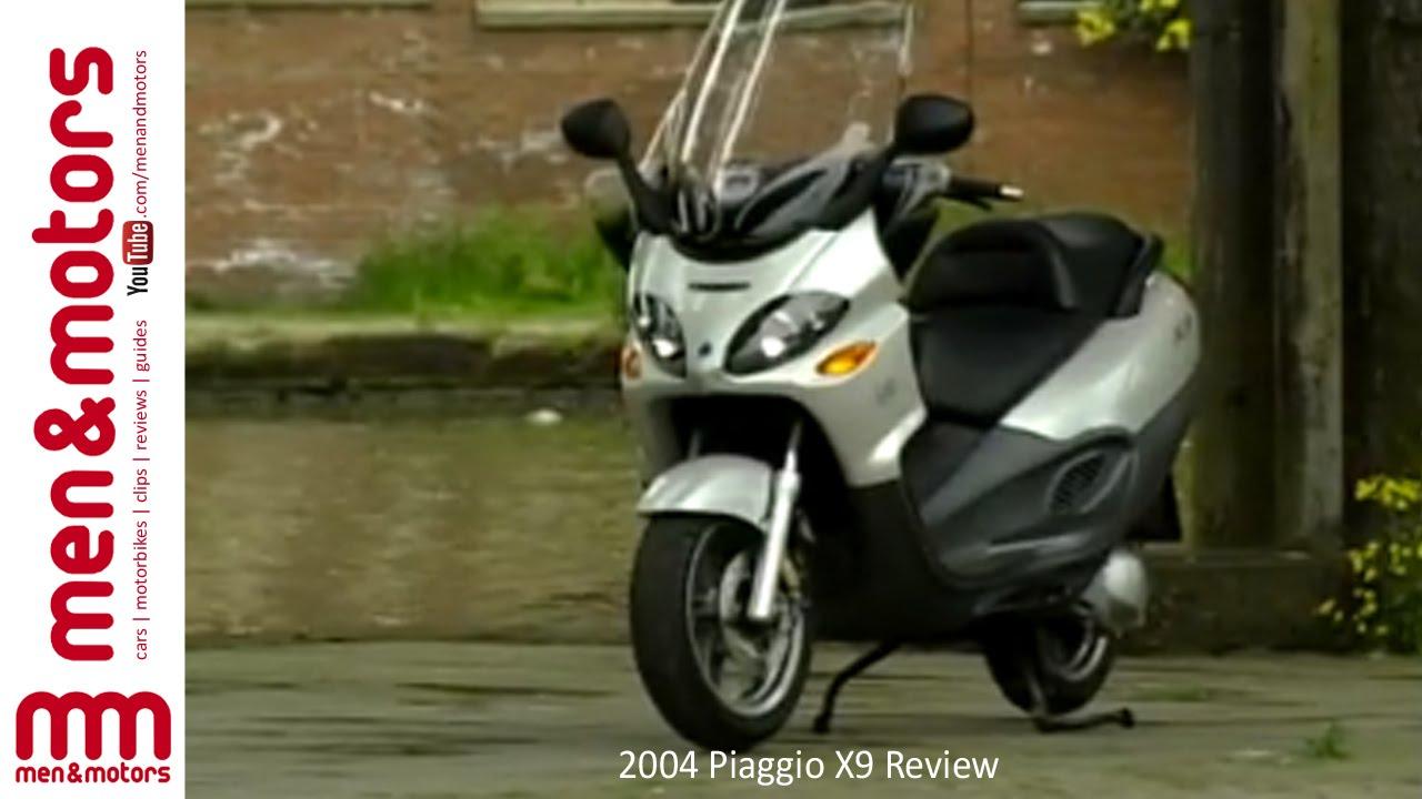 2004 piaggio x9 review - youtube