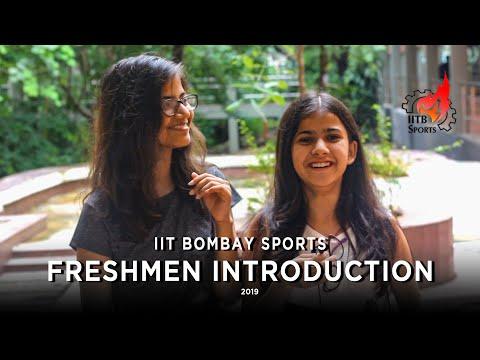 Freshers' 2019 Introduction   IIT Bombay Sports