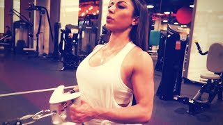 She lifts more than you bro! Female Fitness Motivation