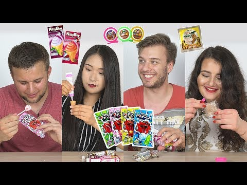 Thai Snacks From the 90s EP.2 | Foreigners try