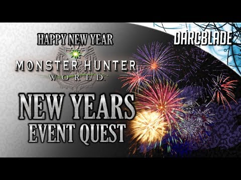 HAPPY NEW YEAR : New Years Event Quest : Monster Hunter World thumbnail