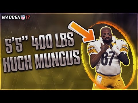 The Creation of Hugh Mungus - Madden 17 Career Mode