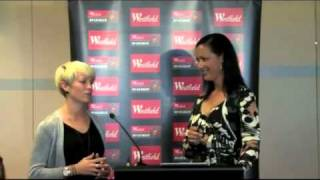 W-League Launch - Sarah Walsh and Megan Rapinoe Interview