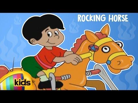 Animated Kids Action Song   Golden Rocking Horse   Animated Nursery Rhymes   Mango Kids