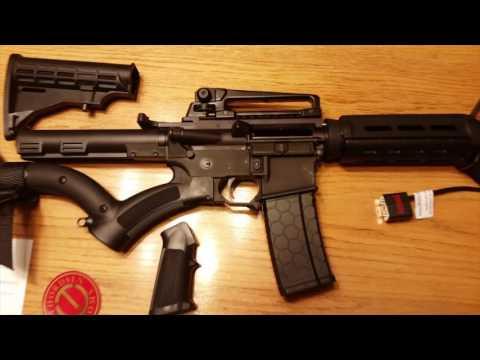 California Legal Compliant Featureless AR-15 Rifle