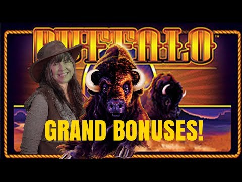 BUFFALO GRAND SLOT MACHINE BONUSES