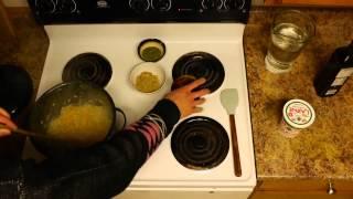 کله جوش - یک اش پیازه، کشک، سیر، و زردچوبه -kaleh Jush- Persian Mint Walnut Onion Garlic Yogurt Soup