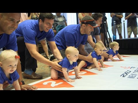 Babies Crawl Across Finish Line in New York's 2018 Diaper