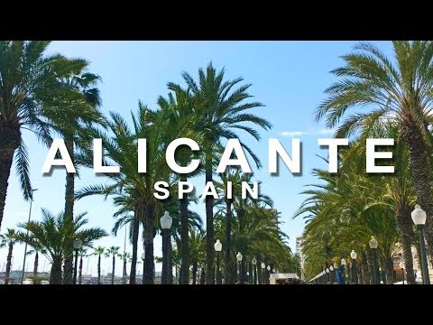 Alicante Spain Travel Video