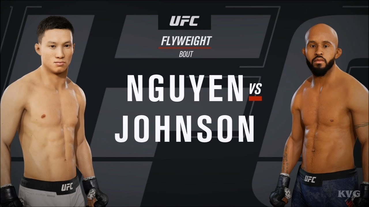 Ea Sports Ufc 3 Ben Nguyen Vs Demetrious Johnson Gameplay Hd 1080p60fps Youtube