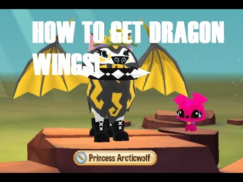 HOW TO GET DRAGON WINGS IN ANIMAL JAM PLAY WILD!