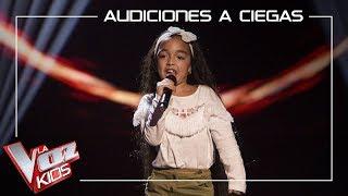 Manuela Gómez canta 'Aún no te has ido' | Audiciones a ciegas | La Voz Kids Antena 3 2019