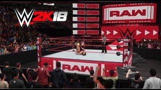 WWE 2K18 Rey Mysterio vs Woken Matt Hardy