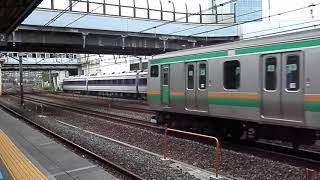 東武鉄道「特急スペーシア」&JR15両電車の迫力!