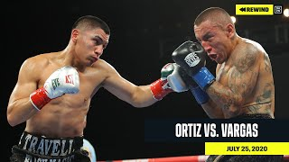 FULL FIGHT | Vergil Ortiz vs. Samuel Vargas (DAZN REWIND)