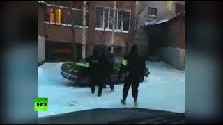 ФСБ опубликовала видео задержания жителей Томской области, собиравших деньги для ИГ