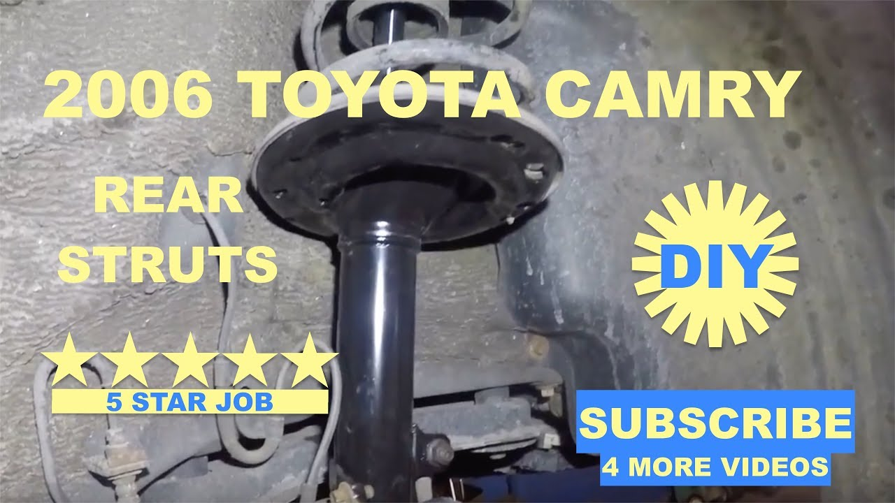 Download How to replace rear struts on 2006 toyota camry
