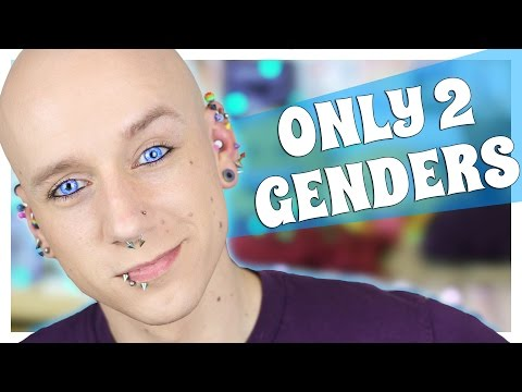 Non Binary Gender Pushing | Gender Fluid FAQ 3 | Roly