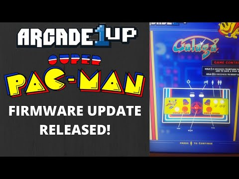 Arcade1up: Super Pacman Firmware Update Released! from PsykoGamer