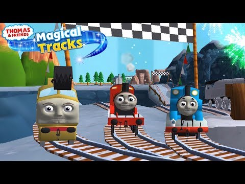 Thomas and Friends: Magical Tracks - Race Against Fellow Engines!