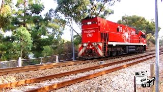 Pacific National NR75 light engine long hood first Eden Hill 16th March 2017