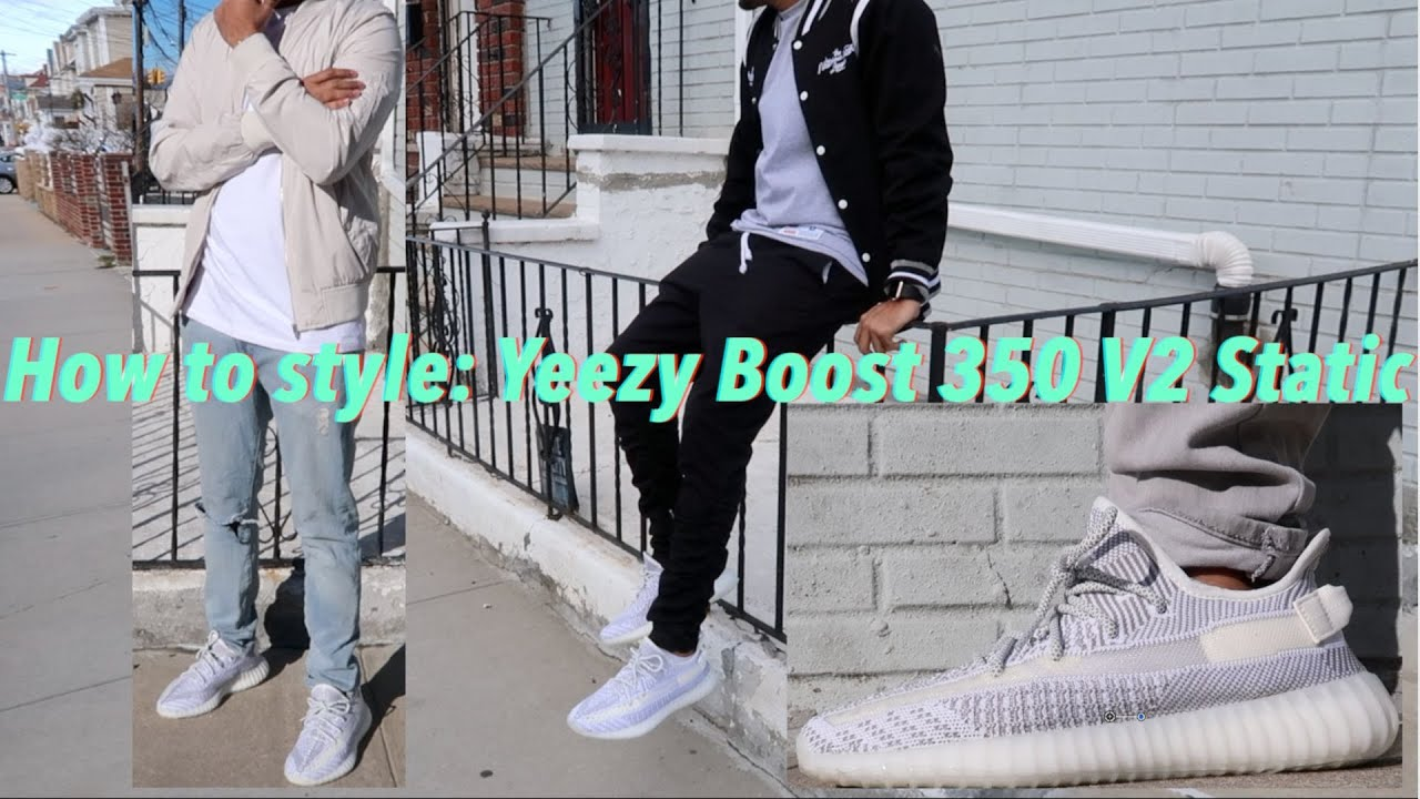 How to Style Yeezy Boost 350 V2 STATIC