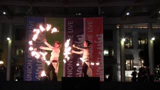 Fire Fan and Fire Belt: 2013 Fire Dancing Expo Act 10: Sarab Elnar