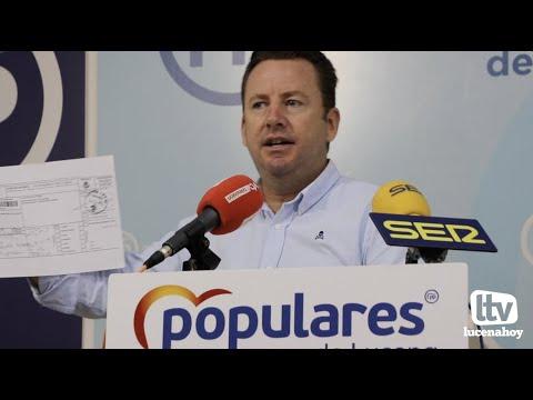 """VÍDEO: El PP denuncia la posible """"inseguridad jurídica"""" de la decisión del equipo de gobierno de desahuciar a una familia lucentina con menores a su cargo de un piso municipal"""