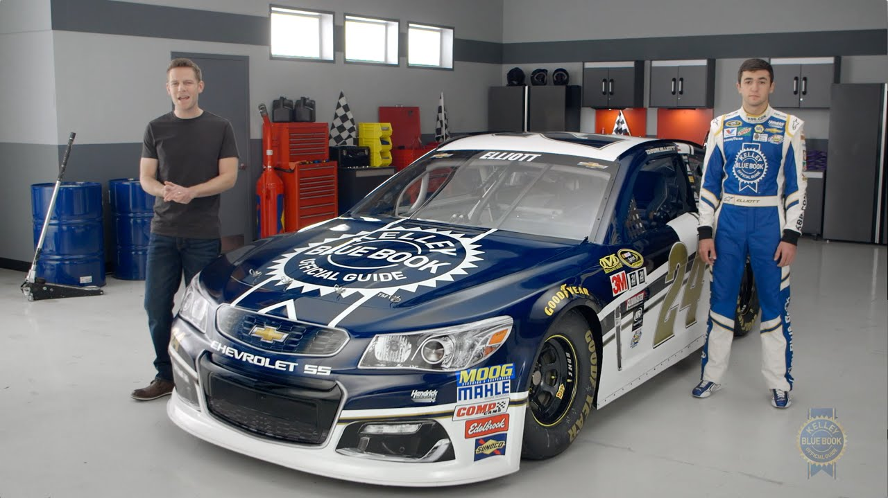 Kelley Blue Book Reviews Chase Elliott\'s No. 24 Car - YouTube