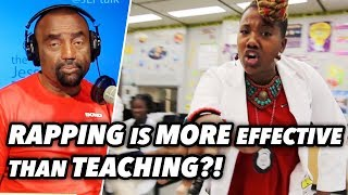 Teacher Thinks Rapping is More Effective than Teaching?! - Gen Z (Kendrah Underwood)