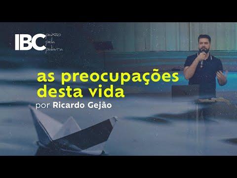 as preocupações desta vida por Ricardo Gejão