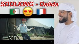ARAB REACTION TO ALGERIAN/FRENCH MUSIC BY  Soolking - Dalida **AMAZING**