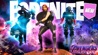 FORTNITE - BECOMING THE AVENGERS TO DEFEAT THANOS!!