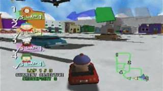 South Park Rally - Nintendo 64 - First Race