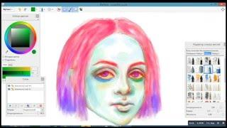 drawing on the tablet. my paint/ Рисую на планшете(Моё первое видео... Надеюсь вышло не плохо) Планирую выкладывать несколько раз в неделю что-то похожее) Музы..., 2016-01-03T06:43:14.000Z)