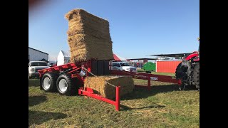 The ProAg Bale Titan - New Large Square Bale Stacker