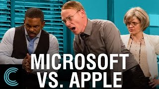 Microsoft Punishes Apple Users thumbnail