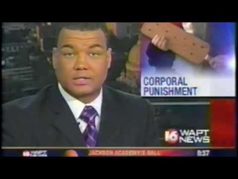 WAPT 16:  BIG News Error on MS School Corporal Punishment