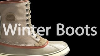 Types of Winter Boots