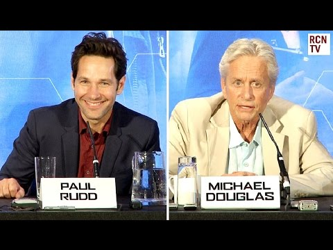Ant-Man Premiere Press Conference