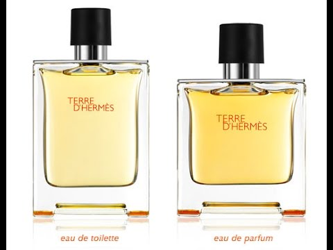 Terre D Hermes Edt Edp Youtube
