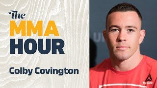 Colby Covington Discusses Feud with Kamaru Usman, Rafael dos Anjos Interim Title Fight