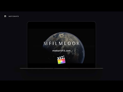 mFilmLook FCPX Plugin ad - All-in-one Cinematic Look Plugin For Final Cut Pro X - MotionVFX