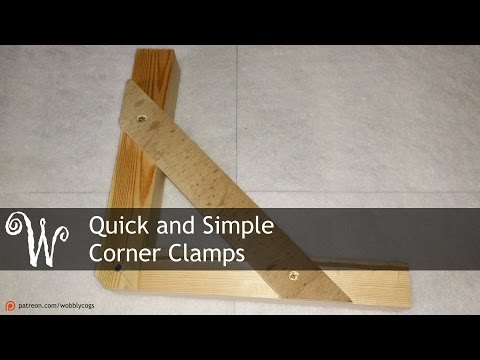 Quick and Simple Corner Clamps