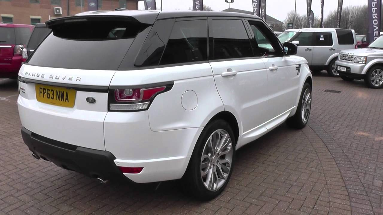 land rover range rover sport 3 0 sdv6 hse dynamic 5dr auto. Black Bedroom Furniture Sets. Home Design Ideas