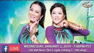 Livestream với Như Quỳnh & Hương Thủy - Jan 2, 2019