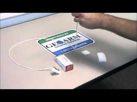 How to Install the 5821 Flood & Temp Sensor