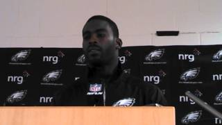 Video interview with Michael Vick after loss to Broncos