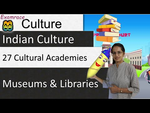 27 Cultural Academies, Museums & Libraries: IAS Mains GS Paper 1